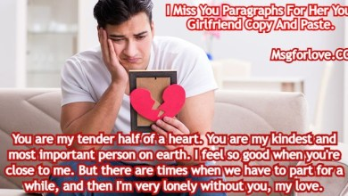 I Miss You Paragraphs For Her
