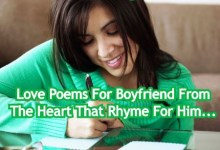 Love Poems For Boyfriend