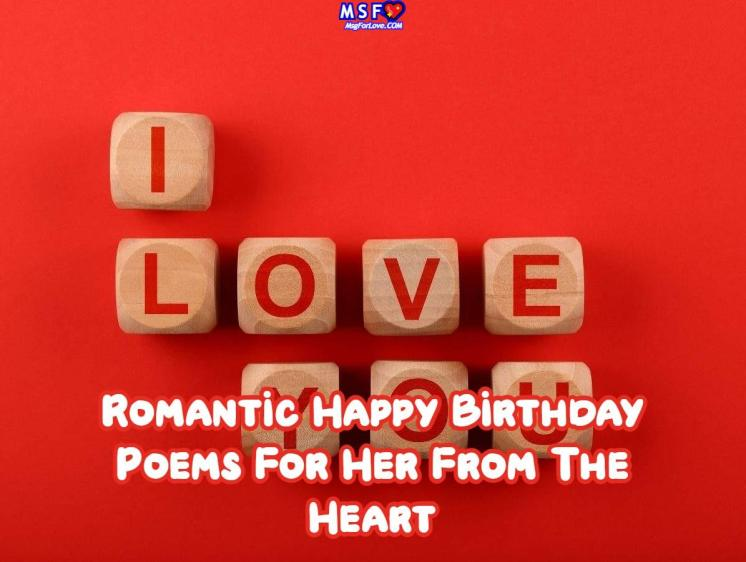 Happy Birthday Poems For Her