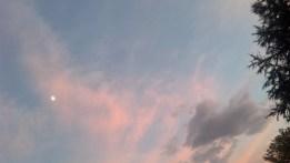 Sky over my backyard