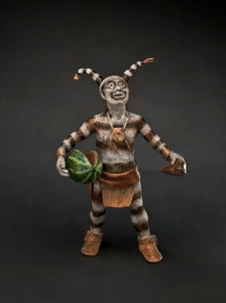 Watermelon Man - Kliewer Kachina Bronze Sculpture at Mountain Spirit Gallery in Prescott, Arizona