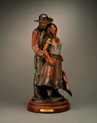 Mi Corazon - Kliewer Bronze Western Art Sculpture at Mountain Spirit Gallery in Prescott, Arizona