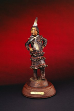 Jingle Dancer -Kliewer Native American Bronze Sculpture at Mountain Spirit Gallery in Prescott, Arizona