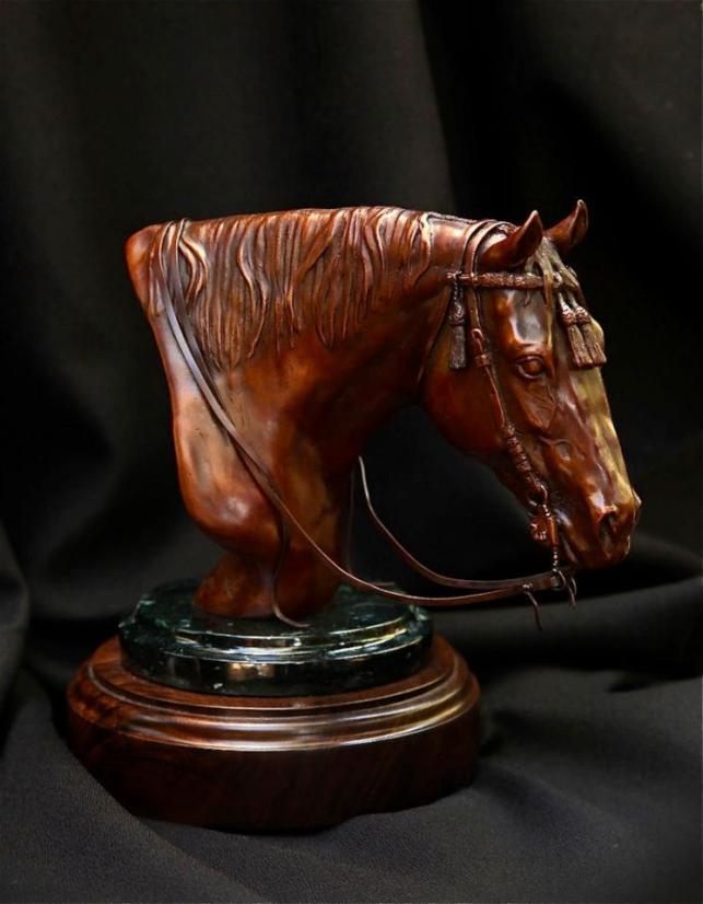 Horse Bronze- Bob Scheelings
