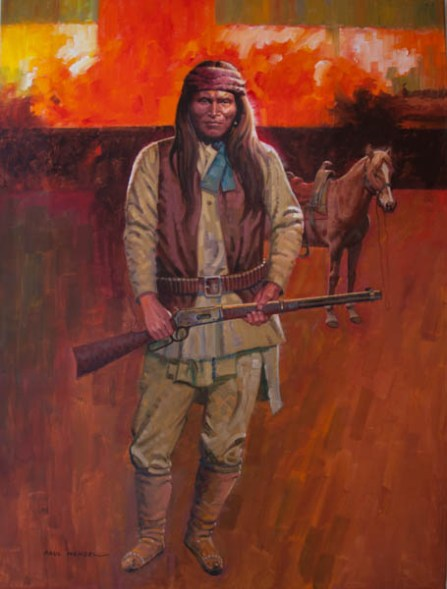 Apache Warrior- Paul Wenzel