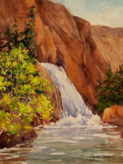 Spring Rush - Watercolor 12X9 $450.00