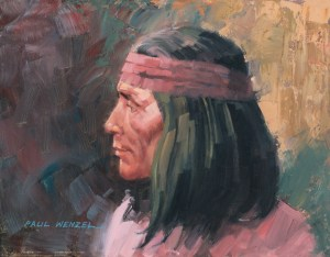 Apache Scout - Oil - Sold