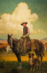 American Cowboy 24X36 Oil $4500.00 by Paul Wenzel