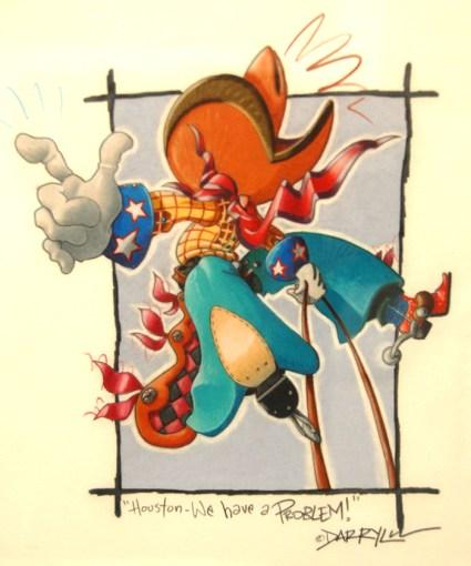 Darryl Willison Original Framed Color Pencil $400.00