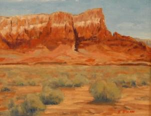 Original Framed Oil by Jeff Dolan $500.00