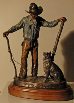Old Friends bronze by Susan Kliewer $3500.00