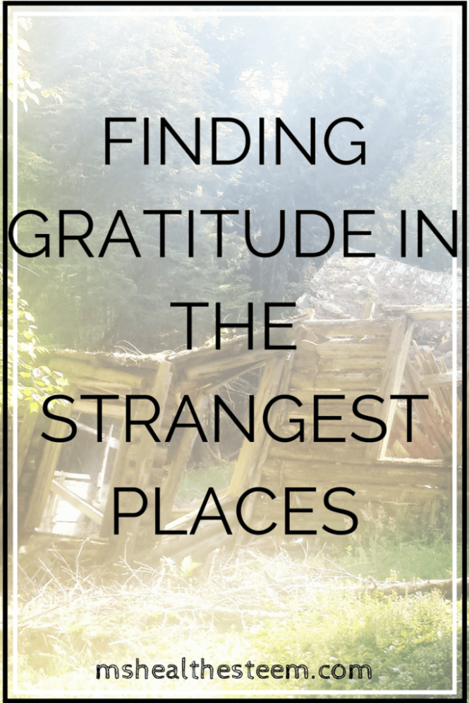 Why I'm grateful for my life with Graves Disease and finding gratitude in strange places
