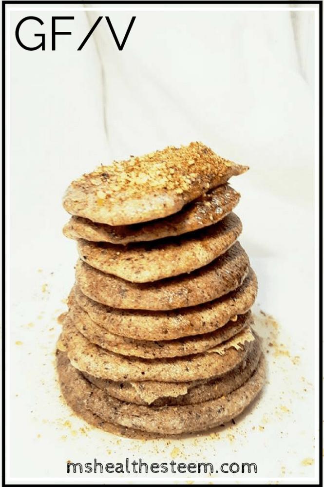 Delicious Mini Buckwheat Pancakes. Enjoy these healthy, gluten free, vegetarian (with vegan option), paleo, refined sugar free delights!