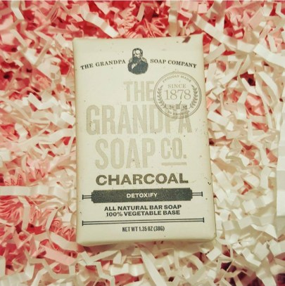 Your Monday Inspiration Board - Self Care - ChronicAlly Box Grampa's Soap Co., Face and Body Charcoal Soap