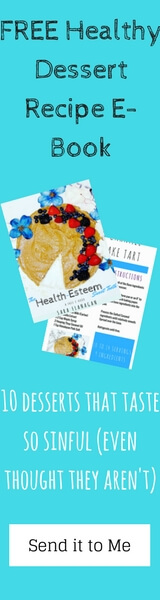 Free 10 Healthy Dessert Recipe E-Book