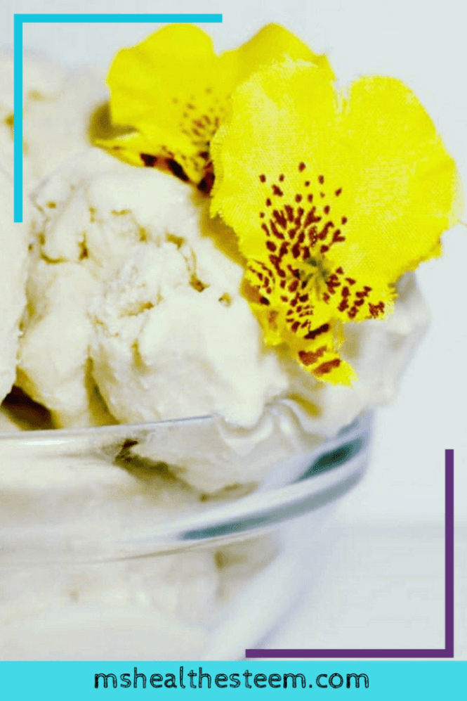 This is the Absolute BEST Healthy Homemade Ice Cream - Salted Caramel with Rosemary Essential Oils   This healthy homemade ice cream is dairy free, gluten free, vegan and full of all the good stuff you want. Because healthy dessert recipes are where it's at! Plus you can load up on 10 more healthy recipes with a free dessert recipe e-book. Click through for the goodness: