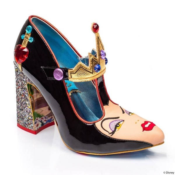 The Evil queen by Irregular choice x Disney