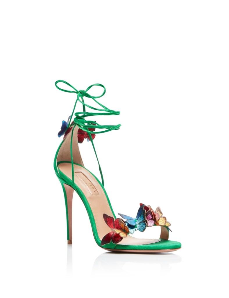 Aquazurra papillion sandal