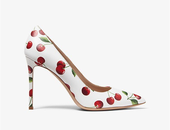 Gretel cherry heel by Michael Kors