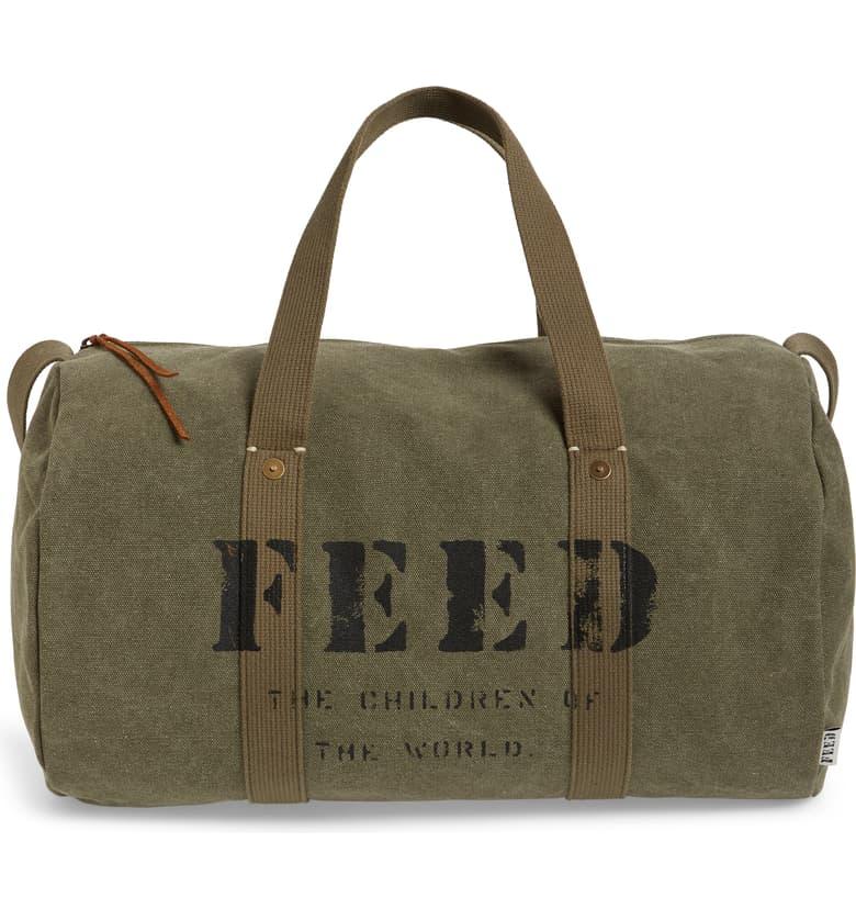 FEED utility duffel bag