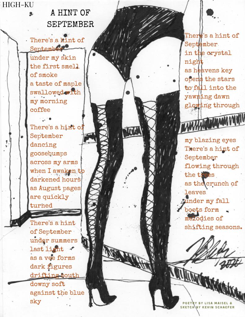 High-ku poetry...a mix of haiku with high heels.