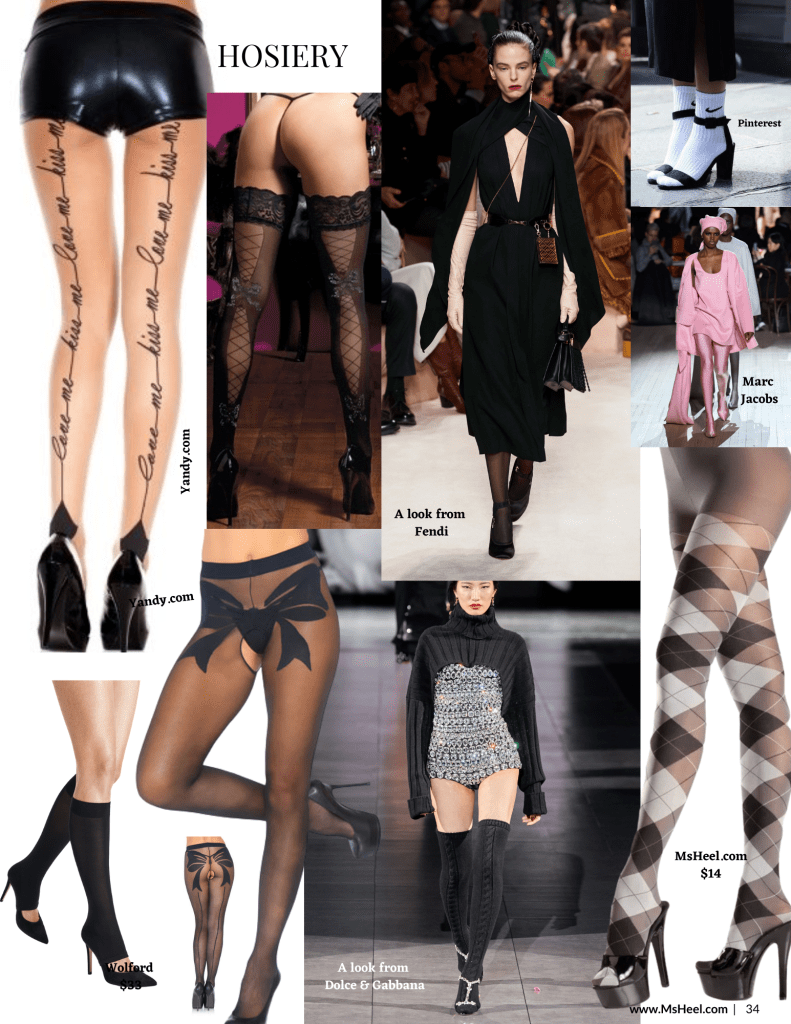 Hosiery is the accessory to have for fall 2020.