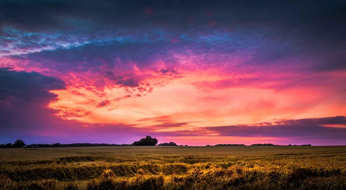 clouds dawn dusk environment