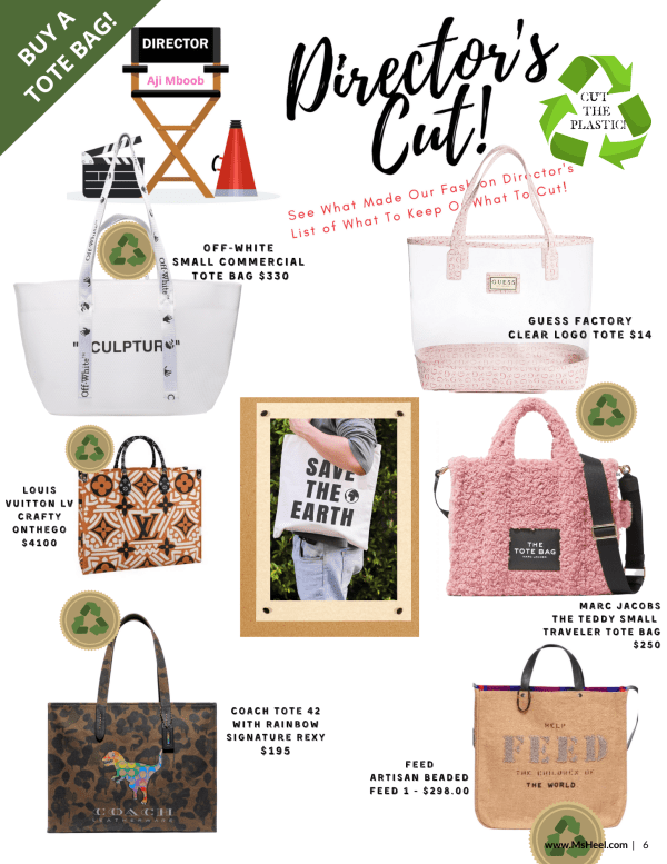 How to stop using plastic bags...use a tote bag!
