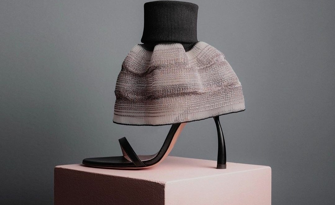 Vegan skirt heel by Alfredo Piferi