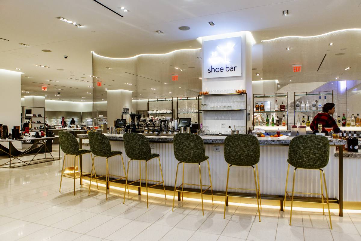 Nordstrom's Shoe Bar In NYC