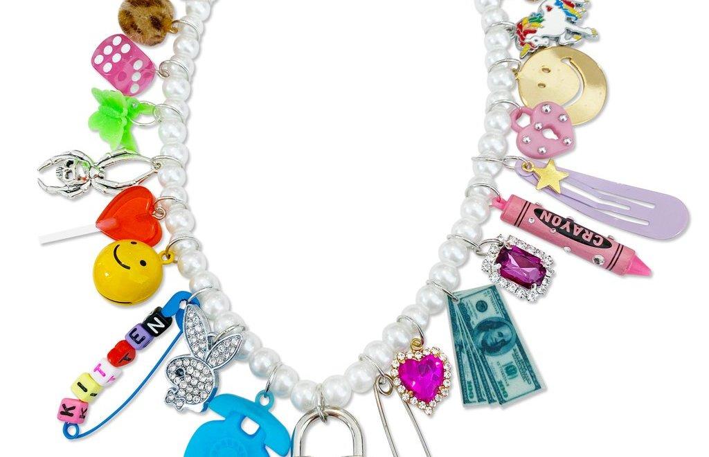 laser Kitten Pink Princess Necklace