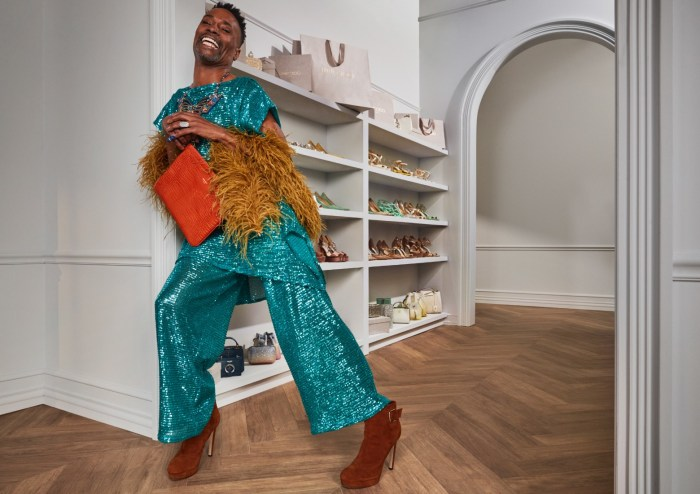 Billy Porter Jimmy Choo shoe collection