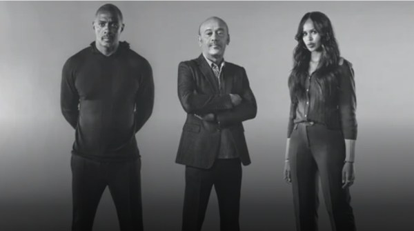 Idris & Sabrina Elba with Christian Louboutin