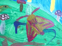 My contribution to the Childrens Art Mural