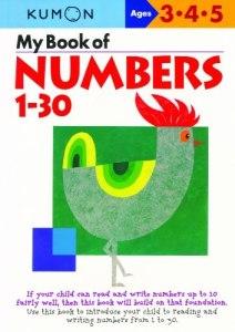 KUMON_3-4-5_years_My_book_Of_numbers_1-30