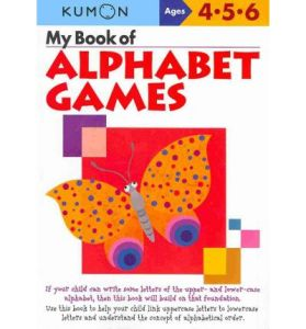 KUMON_4-5-6_years_My Book of Alphabet Games
