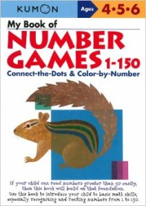KUMON_4-5-6_years_My_book_of_number_games_1-150