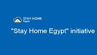 Stay home Egypt-التحول الرقمي