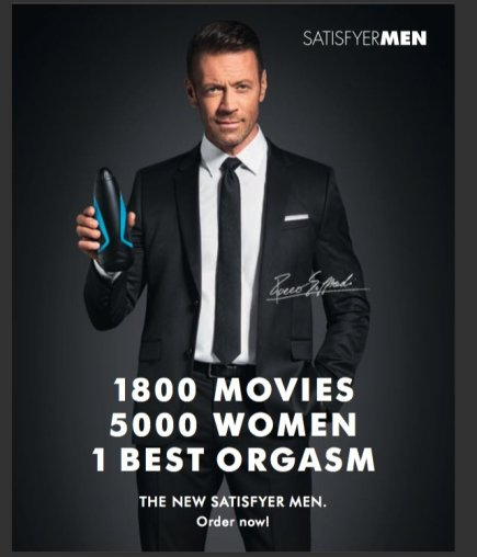 SATISFYER MEN MASTURBATOR & ROCCO SIFFREDI
