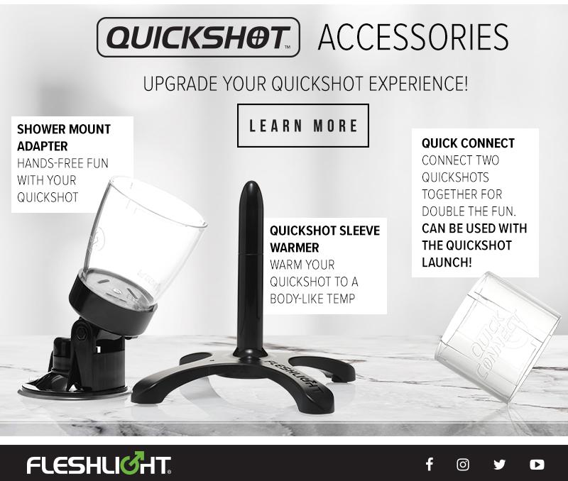 Accessoires pour transformer un quickshot fleshjack