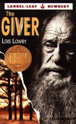 the giver novel cover