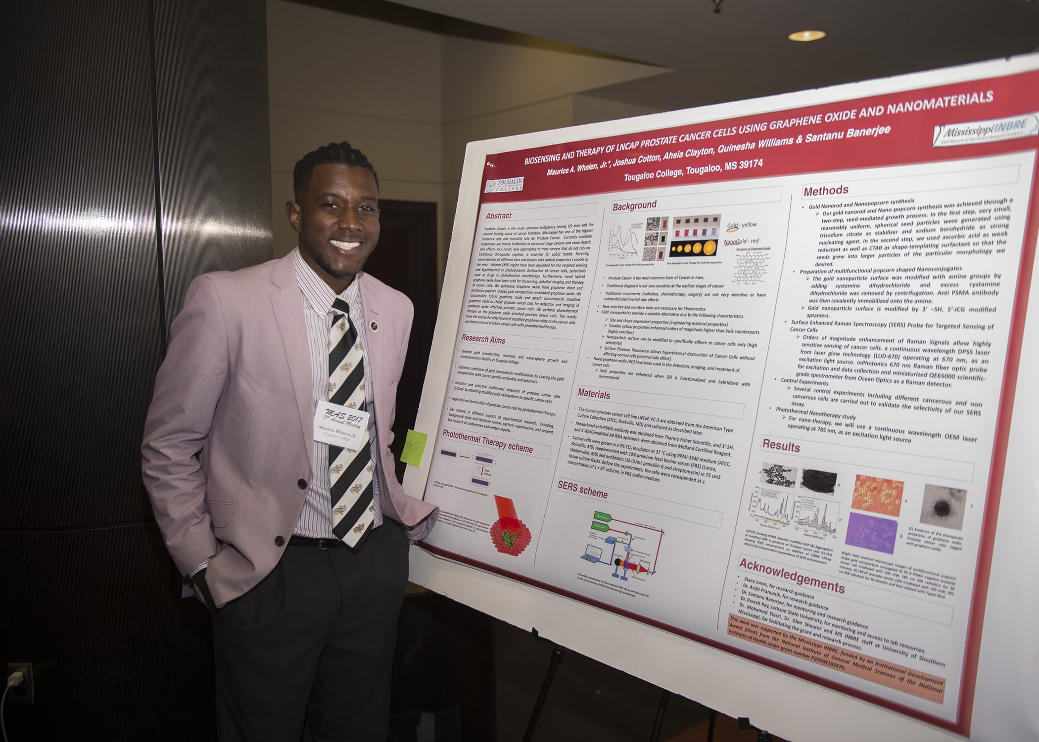 Catching up with 2015-16 Academic-Year Scholar, Maurice Whalen