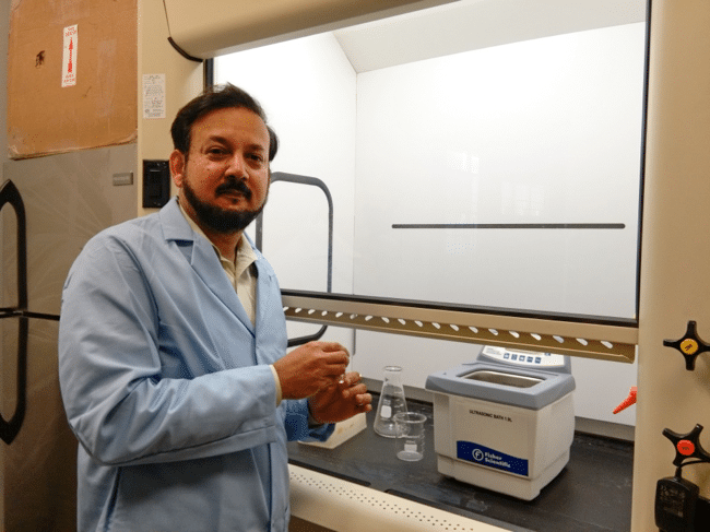 Mississippi INBRE's Dr. Banerjee receives grant from NASA