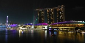 Convention Center and Marina Sands Hotel, Singapore