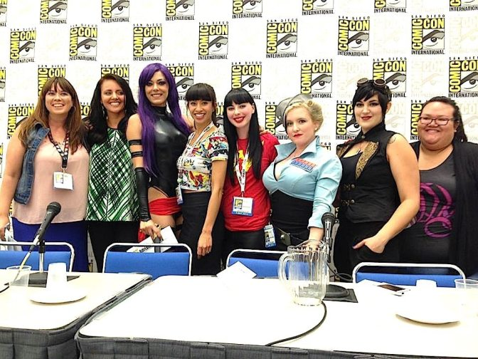 "The ""All Shapes and Sizes Welcome"" panel at Comic-Con"