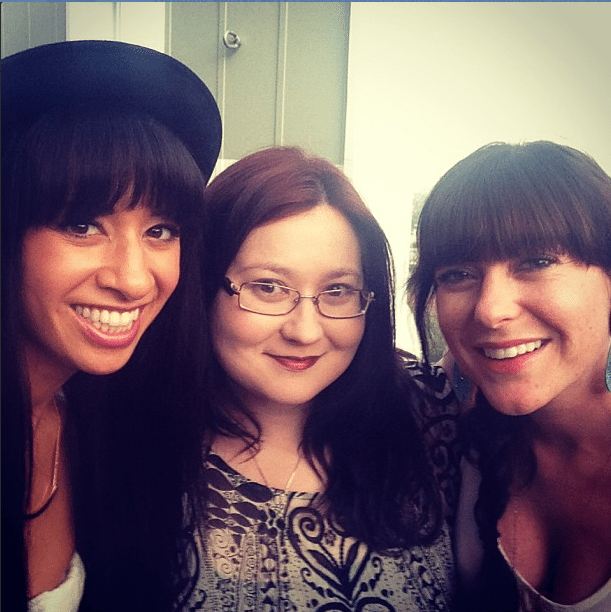 Ms. In The Biz founder Helenna Santos-Levy, myself, and Alexandra Boylan