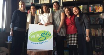 (left to right: Cindy Collins, Ms. In The Biz's Helenna Santos, Naomi Buckley, Marie Begel, Christine Torre, Sabrina Im)