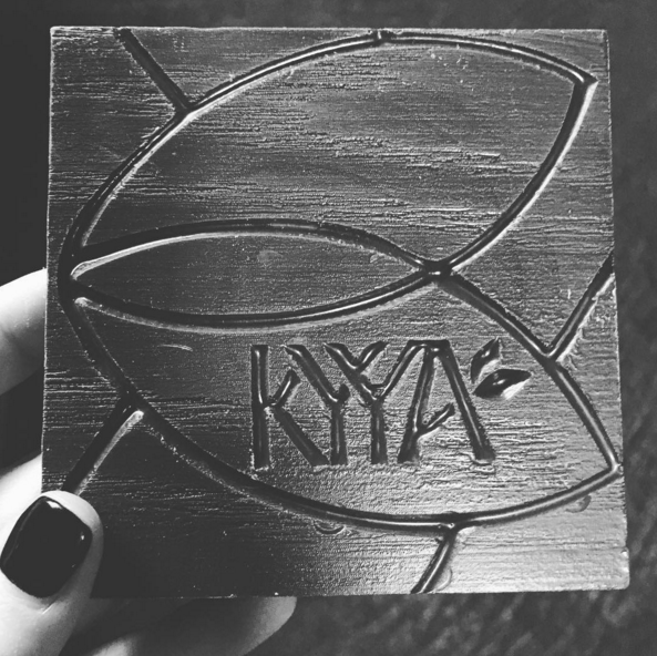 YES we had a chocolate sponsor, #KyyaChocolate, @JennicaRenee Instagram