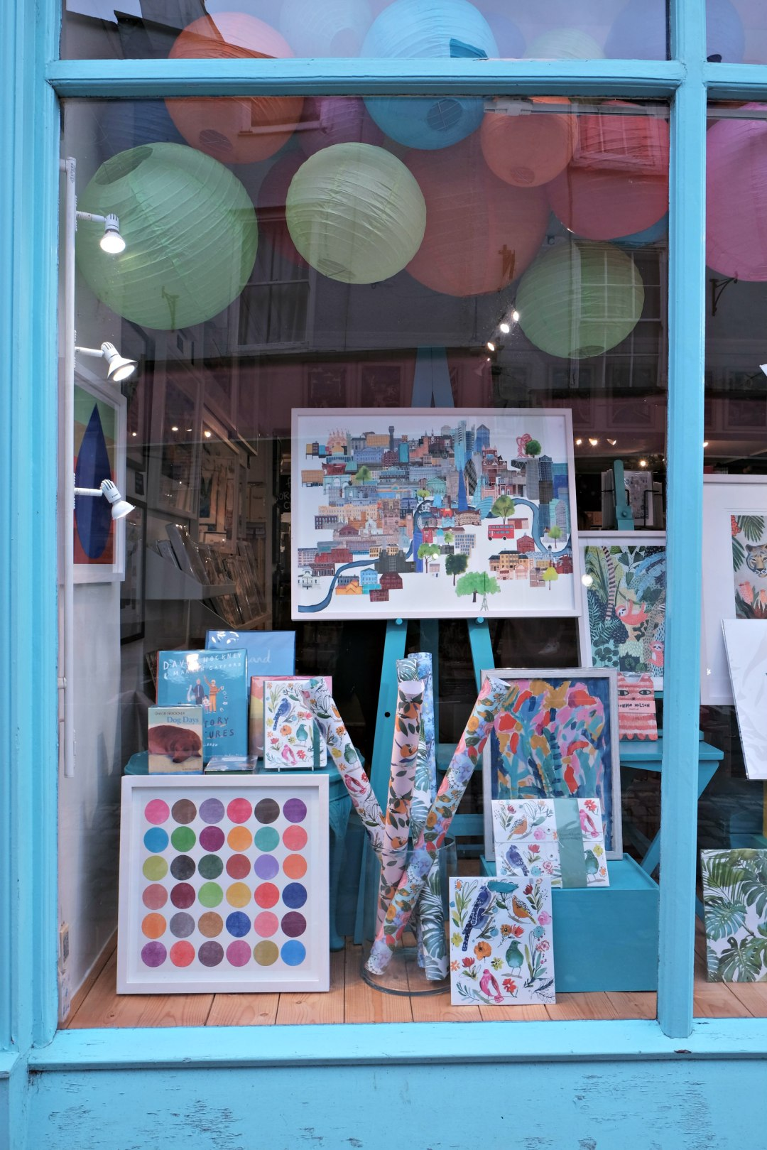 Closer image of sky shop in clifton village.  48 hours in clifton itinerary.