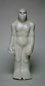 Bigfoot Souvenir 2012, porcelain, glaze